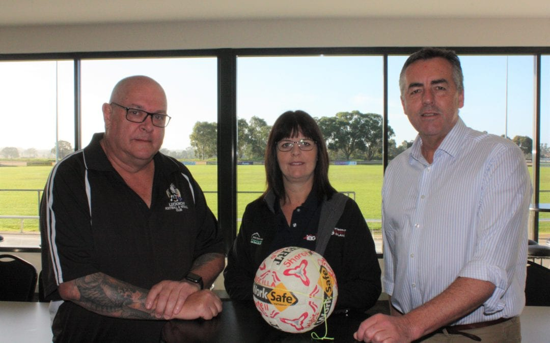 WORKS COMPLETE AT LUCKNOW RECREATION RESERVE