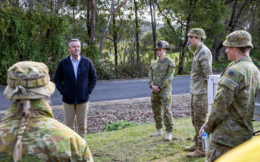 CHESTER WELCOMES ADF PERSONNEL TO GIPPSLAND