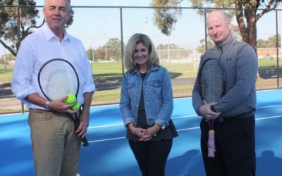 IMPROVED COURTS FOR TRARALGON TENNIS COMPLEX