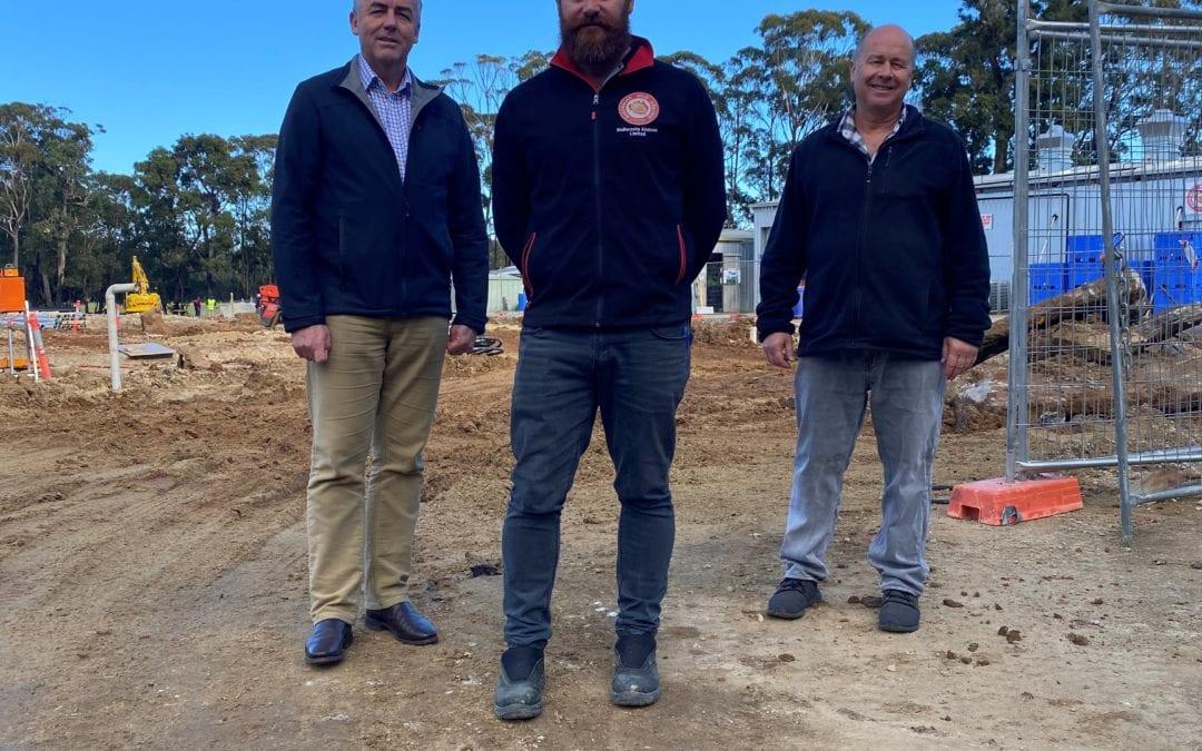 NEW ABALONE CO-OP REBUILD GETS UNDERWAY