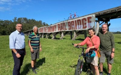 SNOWY TRESTLE BRIDGE WILL BOOST TOURISM