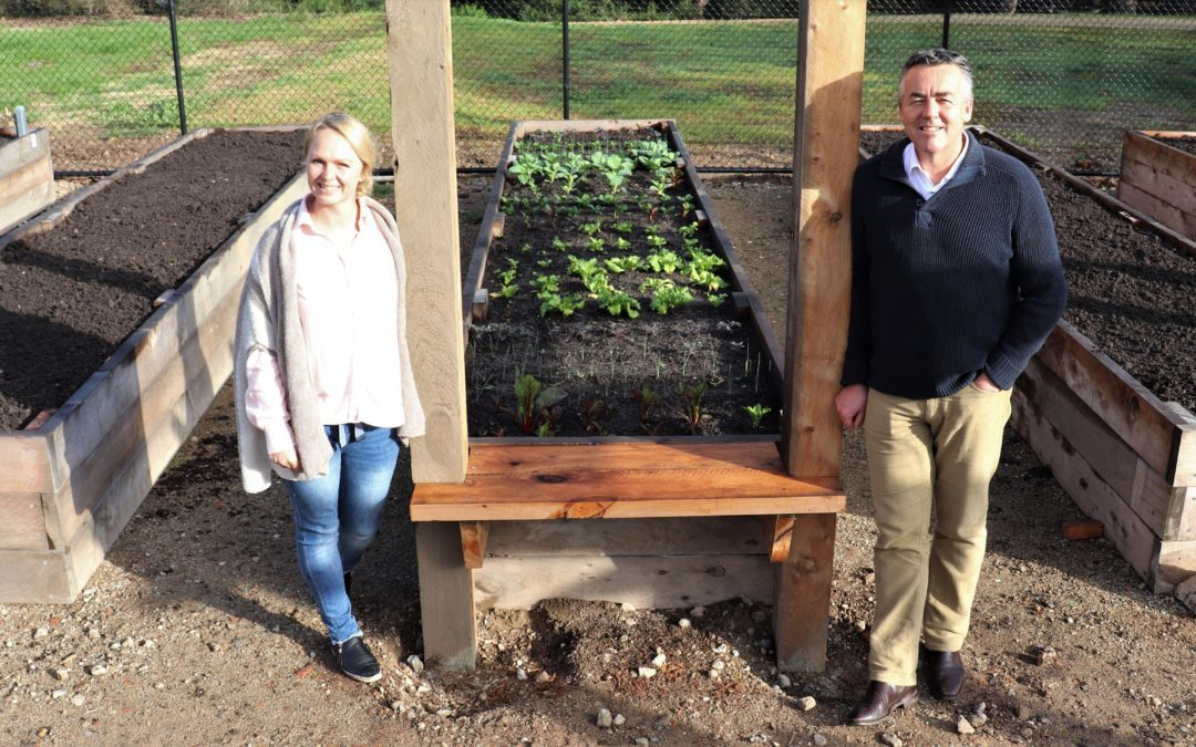 FUNDING BOOST FOR LOCAL COMMUNITY GARDEN