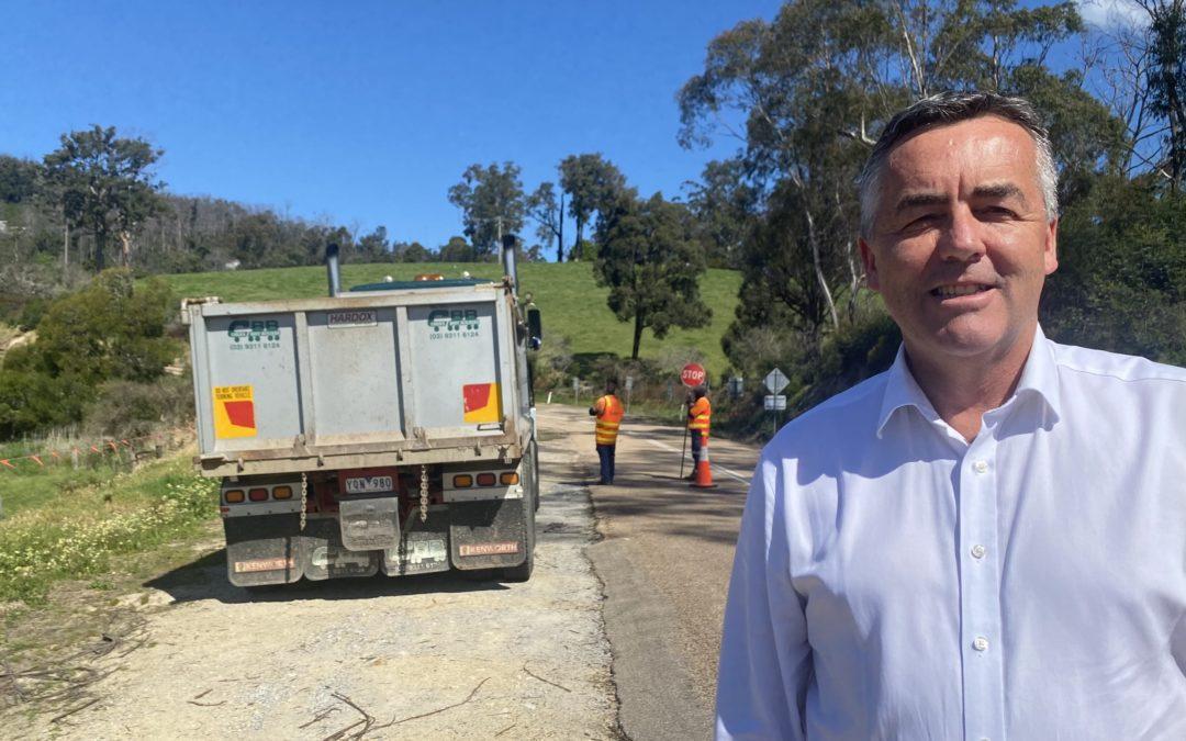 SAFETY WORKS ON MALLACOOTA-GENOA ROAD