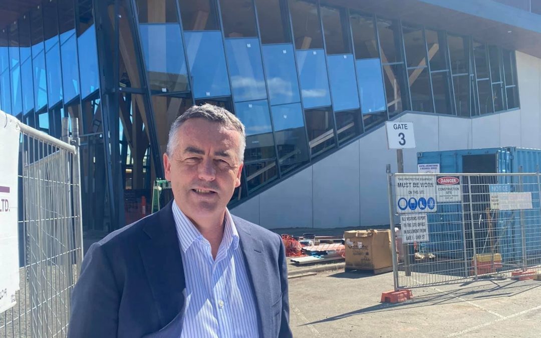 WORKS CONTINUE ON PERFORMING ARTS CENTRE